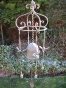 Hummingbirds & Bell Windchime