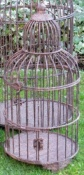 Vintage-Style Birdcage Planter - Small