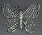 Butterfly-Antique Grey