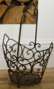 Small Filigree Metal Basket