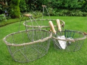 Oval 'Lobster Pot' Style Basket - Small
